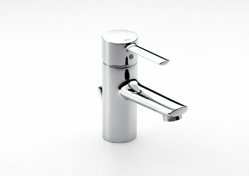 Roca Targa Basin Mixer Tap With Pop Up Waste - Chrome